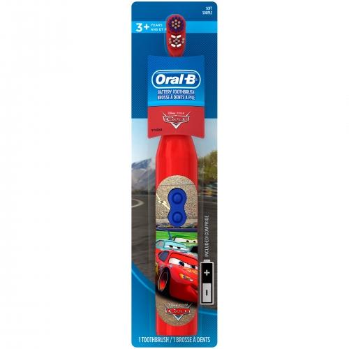 Детская электрическая зубная щетка Oral-B 'Тачки' Бишкек и Ош купить в магазине игрушек LEMUR.KG доставка по всему Кыргызстану