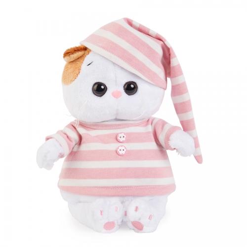 Мягкая игрушка Кошечка Ли-Ли Baby в полосатой пижаме Бишкек и Ош купить в магазине игрушек LEMUR.KG доставка по всему Кыргызстану