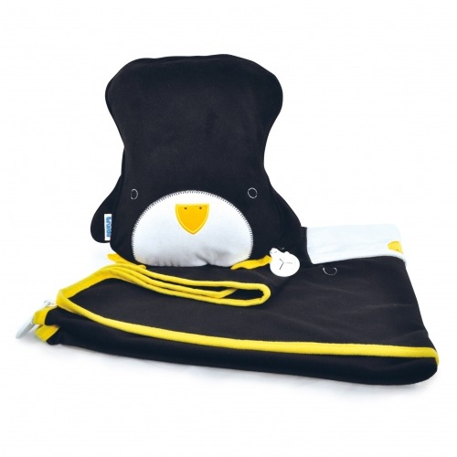 Подушка с пледом Trunki - SnooziHedz Пингвин Бишкек и Ош купить в магазине игрушек LEMUR.KG доставка по всему Кыргызстану
