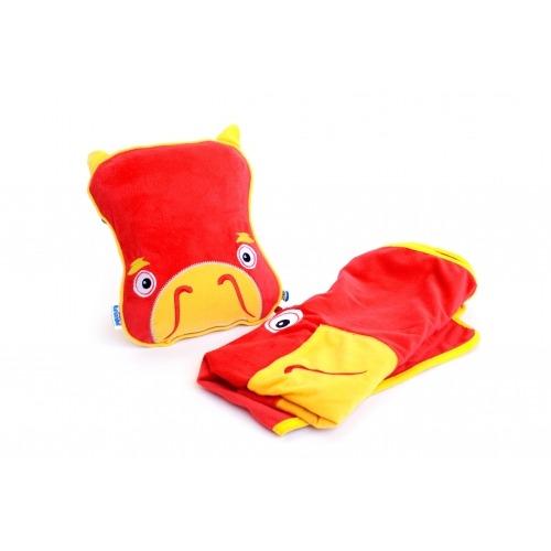 Подушка с пледом Trunki - SnooziHedz Дракон Бишкек и Ош купить в магазине игрушек LEMUR.KG доставка по всему Кыргызстану