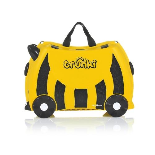 Детский чемодан на колесах 'Пчела' Trunki Бишкек и Ош купить в магазине игрушек LEMUR.KG доставка по всему Кыргызстану