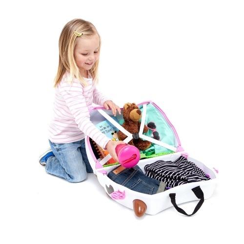 Детский чемодан на колесах 'Корова Фрида' Trunki Бишкек и Ош купить в магазине игрушек LEMUR.KG доставка по всему Кыргызстану
