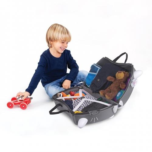 Детский чемодан на колесах 'Котенок Бенни' Trunki Бишкек и Ош купить в магазине игрушек LEMUR.KG доставка по всему Кыргызстану