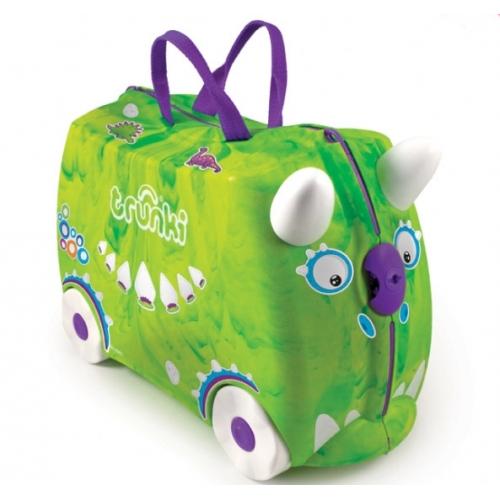 Детский чемодан на колесах 'Рекс' Trunki Бишкек и Ош купить в магазине игрушек LEMUR.KG доставка по всему Кыргызстану