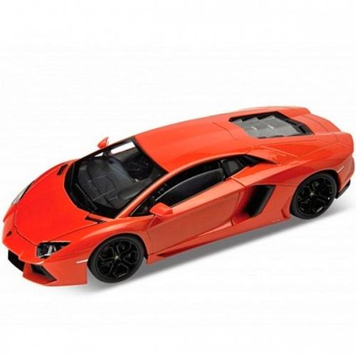 Welly модель машины 1:24 Lamborghini Aventador Бишкек и Ош купить в магазине игрушек LEMUR.KG доставка по всему Кыргызстану
