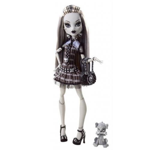 Monster High Комик Кон 2010 Черно-белая Фрэнки Штейн Бишкек и Ош купить в магазине игрушек LEMUR.KG доставка по всему Кыргызстану