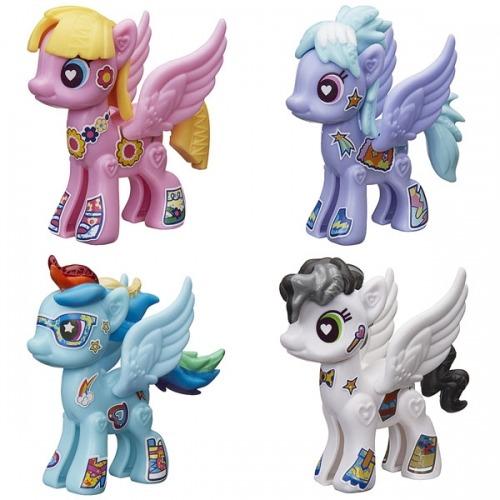 My Little Pony базовая пони 'Создай свою пони' (в ассорт.) Бишкек и Ош купить в магазине игрушек LEMUR.KG доставка по всему Кыргызстану