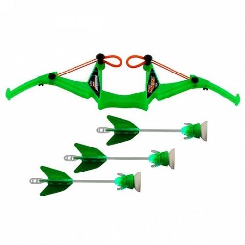 Лук Zing средний 3 стрелы с подсветкой (в ассорт.) Бишкек и Ош купить в магазине игрушек LEMUR.KG доставка по всему Кыргызстану