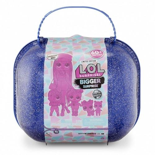 L.O.L. Surprise! Набор с 60 сюрпризами из серии 'Зимнее Диско' Бишкек и Ош купить в магазине игрушек LEMUR.KG доставка по всему Кыргызстану