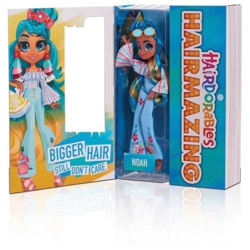 Большая фешн кукла Hairdorables Hairmazing Noah - Ноа Бишкек и Ош купить в магазине игрушек LEMUR.KG доставка по всему Кыргызстану