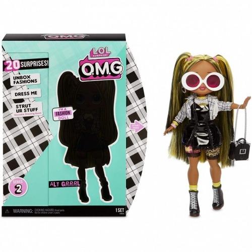 Большая фешн кукла L.O.L. Surprise! O.M.G. Grrrl Бишкек и Ош купить в магазине игрушек LEMUR.KG доставка по всему Кыргызстану
