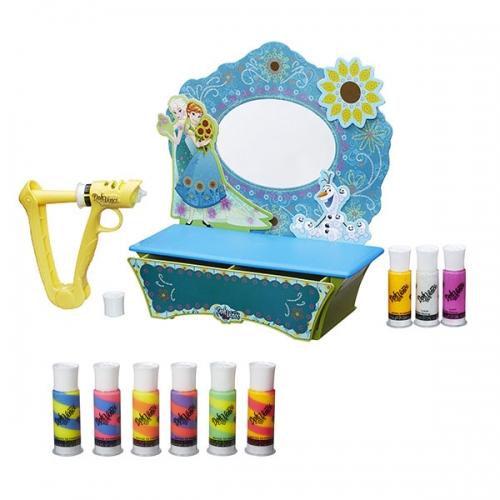 Doh Vinci 'Стильный туалетный столик'+ набор катриджей Бишкек и Ош купить в магазине игрушек LEMUR.KG доставка по всему Кыргызстану