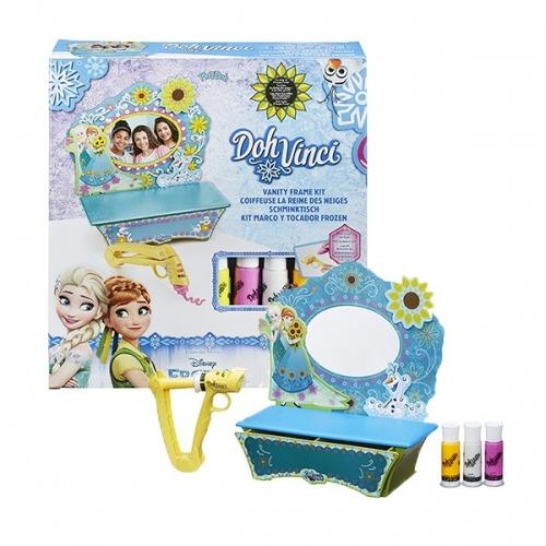 Набор Doh Vinci 'Стильный туалетный столик Холодное Сердце' Бишкек и Ош купить в магазине игрушек LEMUR.KG доставка по всему Кыргызстану