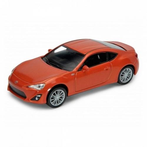 Welly модель машины 1:34-39 Toyota 86 Бишкек и Ош купить в магазине игрушек LEMUR.KG доставка по всему Кыргызстану
