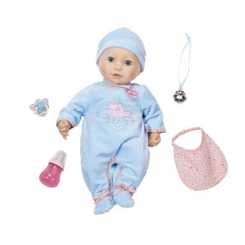 Baby Annabell Кукла-мальчик многофункциональная 43 см Бишкек и Ош купить в магазине игрушек LEMUR.KG доставка по всему Кыргызстану