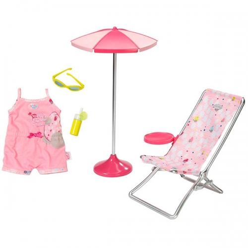 Baby Born Набор Солнечные ванны Бишкек и Ош купить в магазине игрушек LEMUR.KG доставка по всему Кыргызстану