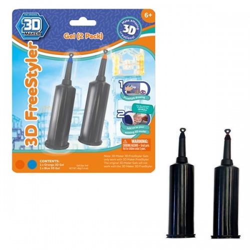 2 картриджа с 3D гелем Бишкек и Ош купить в магазине игрушек LEMUR.KG доставка по всему Кыргызстану