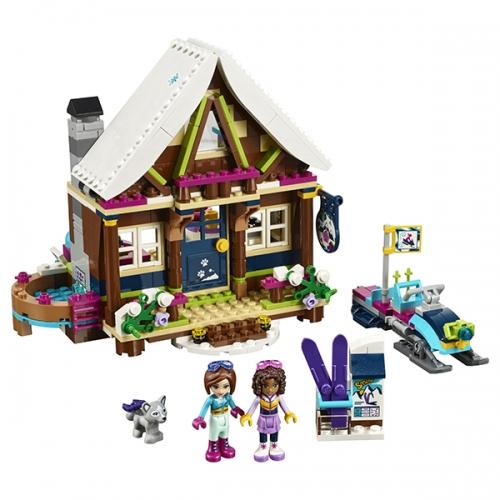 LEGO: Горнолыжный курорт: шале Бишкек и Ош купить в магазине игрушек LEMUR.KG доставка по всему Кыргызстану