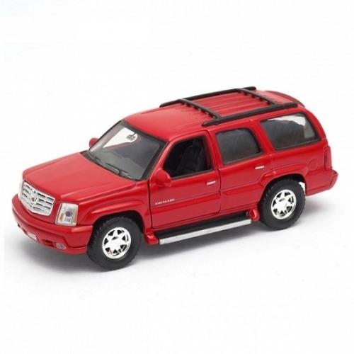 Welly модель машины 1:34-39 2002 Cadillac Escalade Бишкек и Ош купить в магазине игрушек LEMUR.KG доставка по всему Кыргызстану