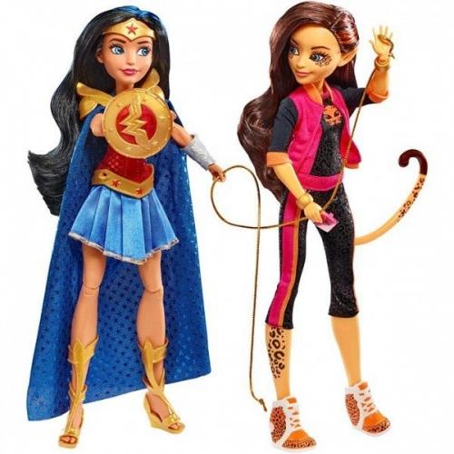 DC Super Hero Girls Комик Кон 2017 Чудо-женщина и Чита Бишкек и Ош купить в магазине игрушек LEMUR.KG доставка по всему Кыргызстану