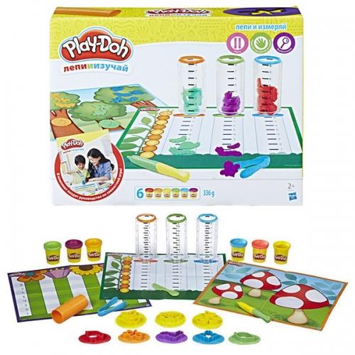 Набор Play-Doh 'Сделай и измерь'  Бишкек и Ош купить в магазине игрушек LEMUR.KG доставка по всему Кыргызстану