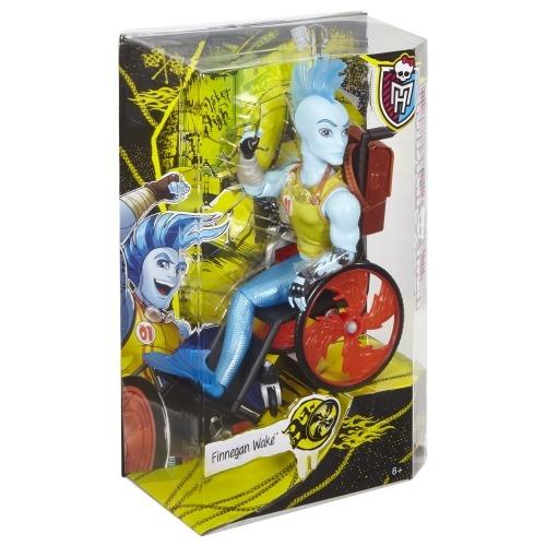 Monster High Финнеган Вейк Первый Выпуск Бишкек и Ош купить в магазине игрушек LEMUR.KG доставка по всему Кыргызстану