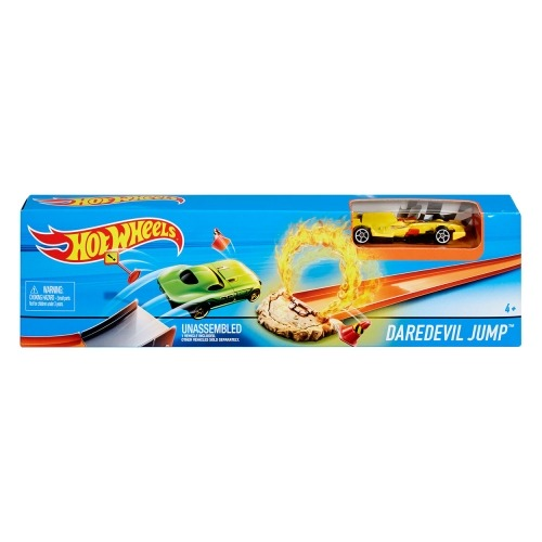 Игровой набор Hot Wheels 'Мега прыжок' (в ассорт) Бишкек и Ош купить в магазине игрушек LEMUR.KG доставка по всему Кыргызстану