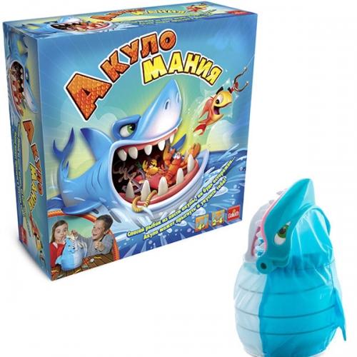 Интерактивная игра 'Акуломания' Бишкек и Ош купить в магазине игрушек LEMUR.KG доставка по всему Кыргызстану
