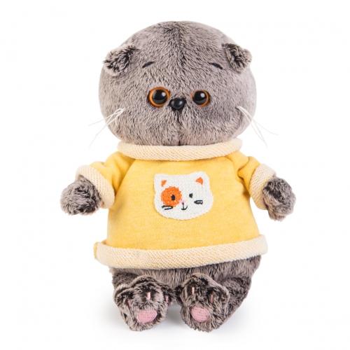Мягкая игрушка Кот Басик Baby в толстовке Бишкек и Ош купить в магазине игрушек LEMUR.KG доставка по всему Кыргызстану