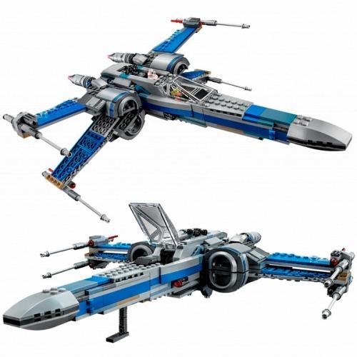LEGO: Истребитель Сопротивления типа Икс Бишкек и Ош купить в магазине игрушек LEMUR.KG доставка по всему Кыргызстану
