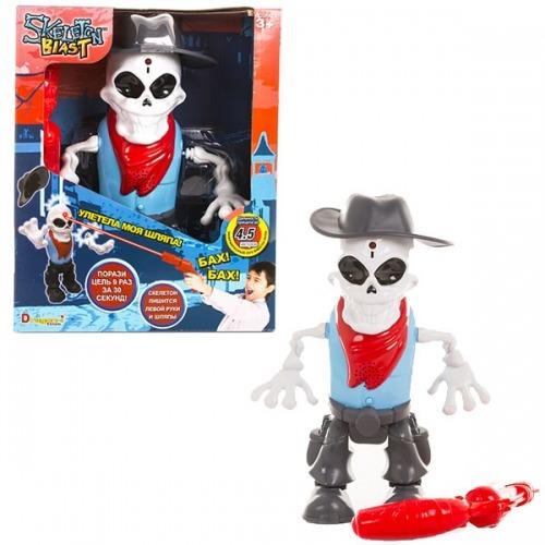 Интерактивный скелет ИК-тир Skeleton Blast Бишкек и Ош купить в магазине игрушек LEMUR.KG доставка по всему Кыргызстану