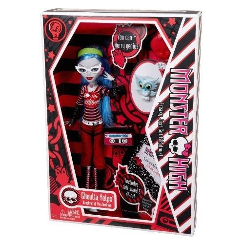 Monster High Гулия Йелпс с питомцем Первый Выпуск Бишкек и Ош купить в магазине игрушек LEMUR.KG доставка по всему Кыргызстану