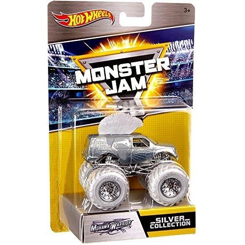 Hot Wheels Серебряная коллекция 'Monster Jam' (в ассорт.) Бишкек и Ош купить в магазине игрушек LEMUR.KG доставка по всему Кыргызстану