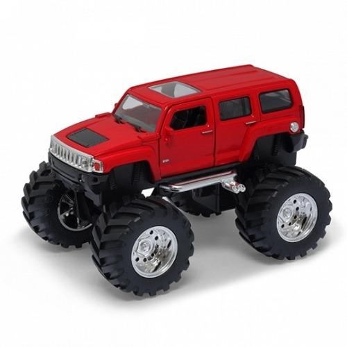 Welly модель машины 1:34-39 Hammer H3 Big Wheel Бишкек и Ош купить в магазине игрушек LEMUR.KG доставка по всему Кыргызстану