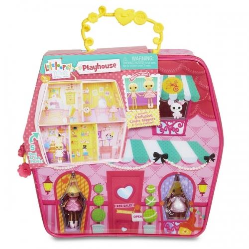 Игровой домик-переноска с куклой Lalaloopsy Mini Бишкек и Ош купить в магазине игрушек LEMUR.KG доставка по всему Кыргызстану