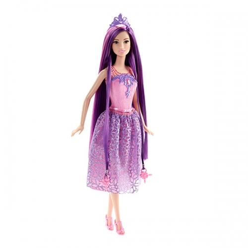 Барби Принцесса с длинными фиолетовыми волосами Бишкек и Ош купить в магазине игрушек LEMUR.KG доставка по всему Кыргызстану
