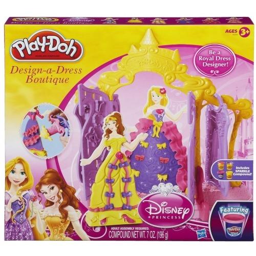 Игровой Play-Doh 'Бутик для Принцесс Дисней' Бишкек и Ош купить в магазине игрушек LEMUR.KG доставка по всему Кыргызстану