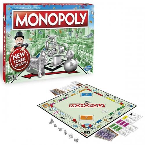 Настольная игра 'Классическая Монополия', обновленная Бишкек и Ош купить в магазине игрушек LEMUR.KG доставка по всему Кыргызстану