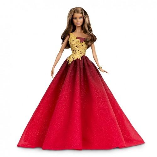 Барби праздничная кукла Латиноамериканка Бишкек и Ош купить в магазине игрушек LEMUR.KG доставка по всему Кыргызстану