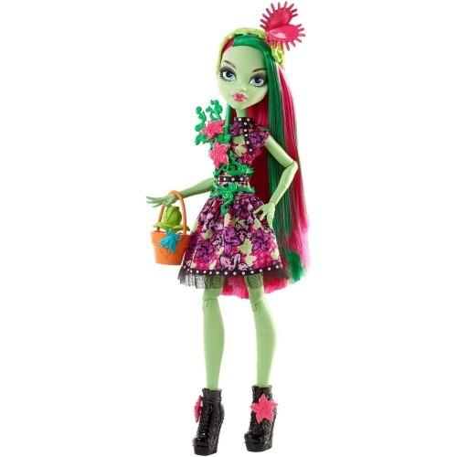 Monster High Венера Макфлайтрап 'Монстры на вечеринке' Бишкек и Ош купить в магазине игрушек LEMUR.KG доставка по всему Кыргызстану