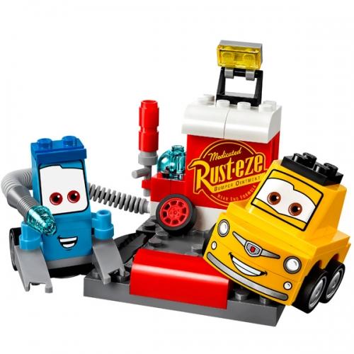 LEGO: Пит-стоп Гвидо и Луиджи Бишкек и Ош купить в магазине игрушек LEMUR.KG доставка по всему Кыргызстану