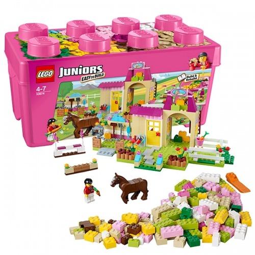 LEGO: Пони на ферме Бишкек и Ош купить в магазине игрушек LEMUR.KG доставка по всему Кыргызстану