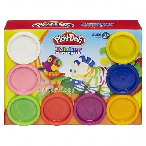Набор Play-Doh 8 баночек Бишкек и Ош купить в магазине игрушек LEMUR.KG доставка по всему Кыргызстану