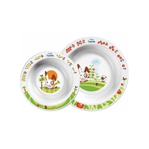 Avent Глубокая тарелка 230 мл, глубокая тарелка 450 мл Бишкек и Ош купить в магазине игрушек LEMUR.KG доставка по всему Кыргызстану