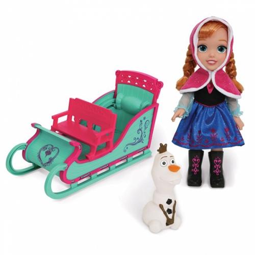 Игровой набор Холодное Сердце 'Приключение Анны', 50 см Бишкек и Ош купить в магазине игрушек LEMUR.KG доставка по всему Кыргызстану