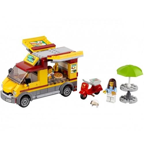 LEGO: Фургон-пиццерия Бишкек и Ош купить в магазине игрушек LEMUR.KG доставка по всему Кыргызстану