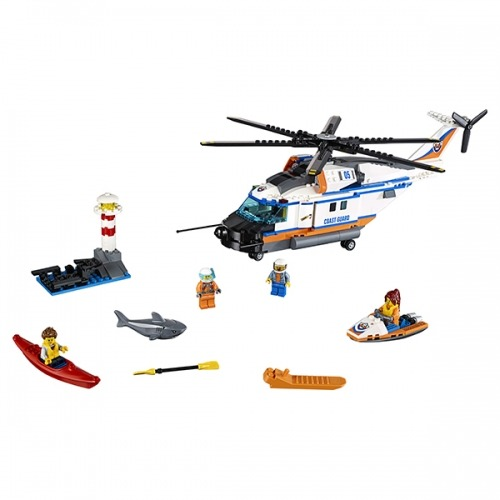 LEGO: Сверхмощный спасательный вертолёт Бишкек и Ош купить в магазине игрушек LEMUR.KG доставка по всему Кыргызстану
