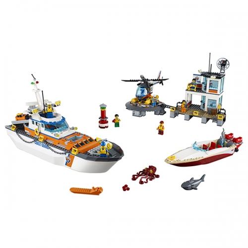 LEGO: Штаб береговой охраны Бишкек и Ош купить в магазине игрушек LEMUR.KG доставка по всему Кыргызстану