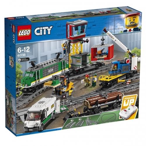 Игрушка Город Товарный поезд Бишкек и Ош купить в магазине игрушек LEMUR.KG доставка по всему Кыргызстану