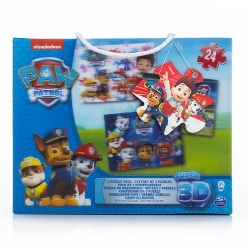 Игра набор 3D пазлов Щенячий Патруль Бишкек и Ош купить в магазине игрушек LEMUR.KG доставка по всему Кыргызстану